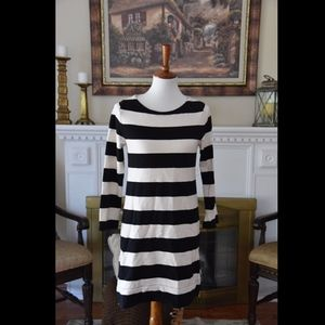 J. Crew Black Ivory Maritime Dress in Size XS